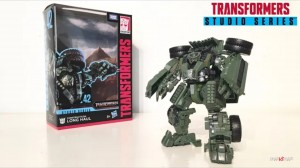 Transformers News: New English Video Review of Transformers Studio Series #42 Revenge of the Fallen Long Haul