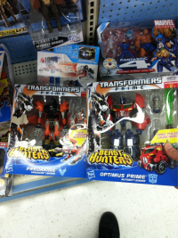 "Transformers News: Transformers Prime ""Beast Hunters"" Voyager Wave 1 Sighted at Retail"