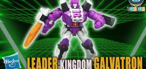 New Video Review of Transformers Kingdom Leader Class Galvatron