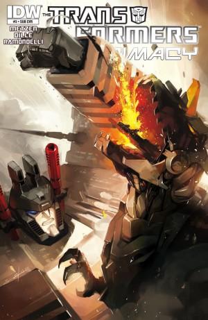 Transformers News: IDW Transformers: Primacy #3 Review
