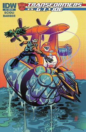 Transformers News: IDW Transformers vs. G.I. Joe #8 Full Preview