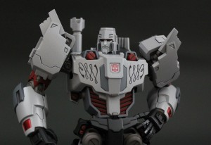 Colored Sample Images of Flame Toys Non-Transforming Autobot Megatron Figure