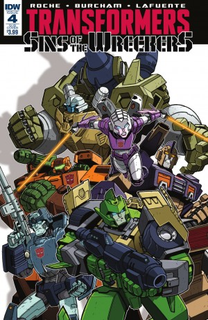 Transformers News: IDW Transformers: #SinsOfTheWreckers #4 Review