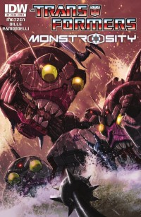 Transformers News: IDW Transformers: Monstrosity #2 Preview
