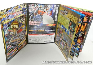 Takara Tomy Transformers Go! Encyclopedia Images