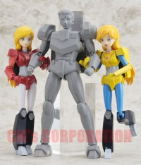 Transformers News: New Images of CM's Corp Special Limited Versions of Minerva and Ginrai: Nightbeat Redeco and Hi-Q