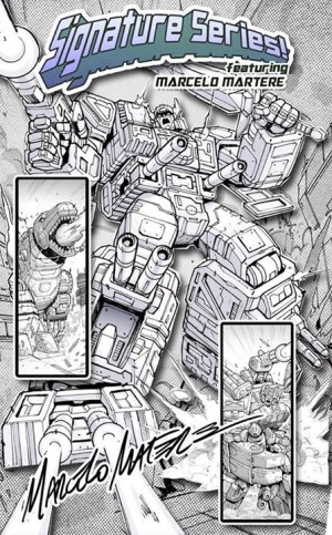 Transformers News: Marcelo Matere Featured in Transformers Legends Signature Series Event