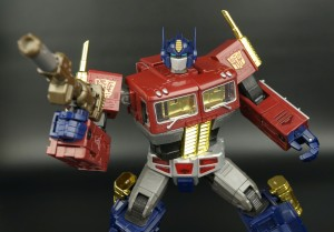 Transformers News: New Gallery: Platinum Edition Year of the Horse Masterpiece Optimus Prime