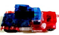 Transformers News: Toy Image of Crystal Clear 2007 Movie Voyager Optimus Prime