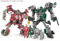 Transformers News: New Toy Galleries: Transformers Dark of the Moon Human Alliance Roadbuster and Leadfoot