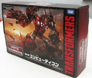 Transformers News: Box Art Revealed for Takara Transformers Unite Warriors UW-08 Computron
