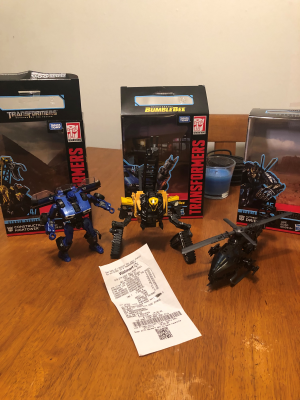 Transformers Studio Series Hightower and Dropkick Spotted, Hightower and Dropkick English Reviews