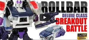 "Transformers News: Age Of Extinction ""Breakout Battle"" Rollbar Video Review"
