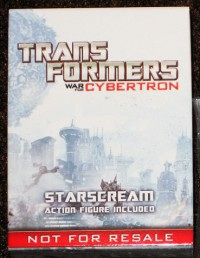 Featured eBay Auctions: SG WFC Prime, WFC Starscream, Stunticons, Targetmaster Scourge, and Cyclonus