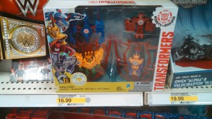 Transformers Robots in Disguise Minicons Weapon 4 pack Found at US Retail