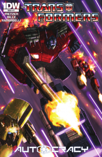 Transformers News: Transformers: Autocracy #11 Preview