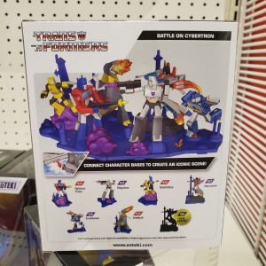 Zoteki Collectible G1 Transformers Statues with Connecting Bases Being Sold at Target