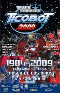 Transformers News: Trasnformers convention Ticobot 2009 - Costa Rica