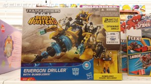 Transformers News: Cyberverse Energon Driller with Bumblebee Sighted at ROSS