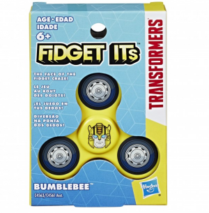 """Transformers """"Fidget Its"""" Spinners and Cubes"""
