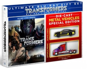 Toys'R'Us and Walmart Exclusive Transformers: The Last Knight Home Release with Extras