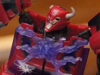 """BotCon 2012 Coverage: SDCC Exclusive Transformers Prime """"Rust in Peace"""" Cliffjumper and Fall of Cybertron Bruticus Giftset Galleries"""