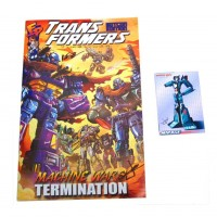 Transformers News: BotCon 2013 Machine Wars Signed Comic Available