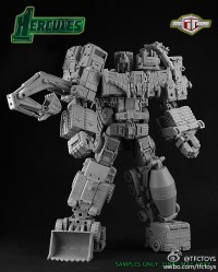 TFC Toys Hercules Fully Combined Prototype Image (Updated with More Images)