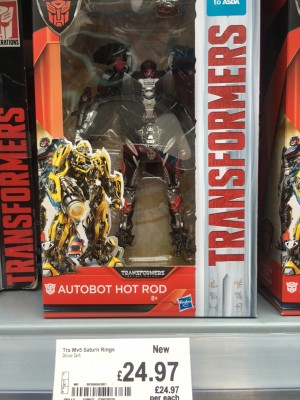 Transformers: The Last Knight Autobots Unite Legion Class Two Packs AND Deluxe Class Hot Rod Spotted at UK Retail