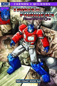 Reminder: Saturday is Free Comic Book Day - Transformers: Regeneration One 80.5