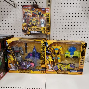 New Transformers Buzzworthy Bumblebee Toyline Sightings + Video Review
