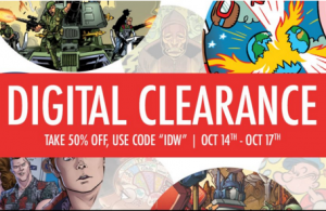 Transformers News: IDW Line Wide 50% Sale on ComiXology.com Ending October 17 2016