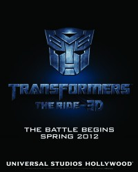 Universal Studios Hollywood Begins Transformers: The Ride Promotions