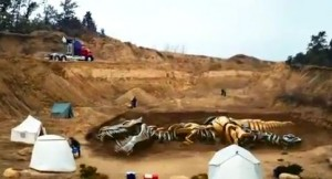 Transformers: Age of Extinction Flip and Change Grimlock and One Step Optimus Prime Commercial English Version