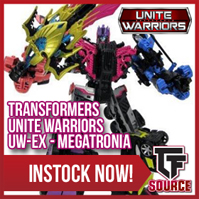 TFsource News! Downbeat Restock, UW Megatronia, Toy World Primorion, MMC Cynicus, Dr. Wu & More!