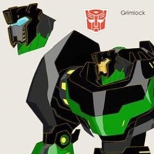Transformers: Robots In Disguise (Animated Series): Grimlock Concept Art