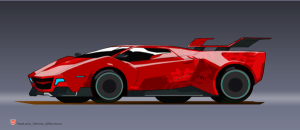 Transformers Robots In Disguise (Animated Series) Sideswipe Concept Art