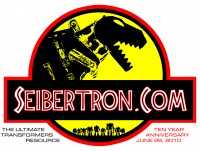 Transformers News: Order your Seibertron.com t-shirt tonight if you want it to ship tomorrow!