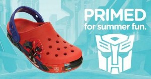 Officially Licensed Transformers Crocs