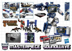 Transformers News: Price Revealed Through Preorders for Hasbro Asia Masterpiece Soundwave Reissue