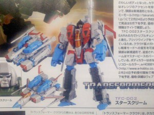 Transformers News: First Look at Transformers Cloud TFC-D02 Starscream