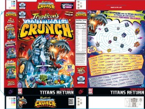 SDCC 2017: Hasbro Transformers Trypticon Titan Master Crunch Limited Poster #HasbroSDCC