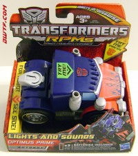 """Transformers News: New Images of Revenge of the Fallen RPMs """"Lights and Sounds"""" Bumblebee and Optimus Prime"""