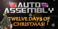Auto Assembly's 12 Days Of Christmas - Day Seven - One Inker Inking