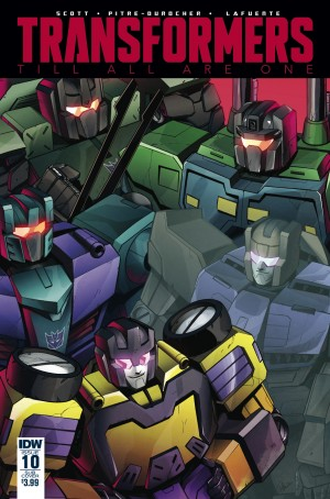 Variant Cover for IDW Transformers: Till All Are One #10 by Priscilla Tramontano