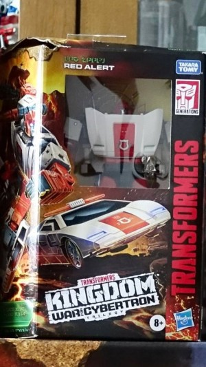 First Look at War For Cybertron: Kingdom Deluxe Class Red Alert