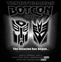 Transformers News: Botcon 2011: Peter Cullen Confirmed and Transformers Prime Cast Script Reading
