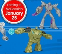 Transformers News: Transformers Prime McDonald's HappyMeal Toys Available on January 25th