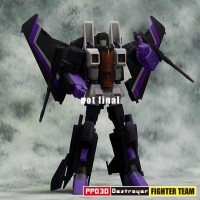 Transformers News: iGear PP03 Destroyer, PP03 Traitor, and PP03 Lightning