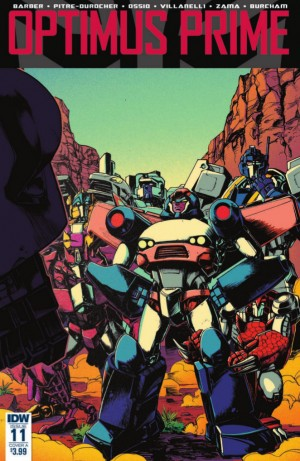 Full Preview for IDW Optimus Prime #11 #Transformers
